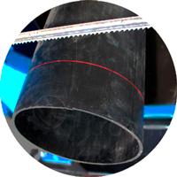 Лазерная линия реза трубы