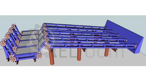Устройство для перемещения грузов конвейер контроль температуры элеватор